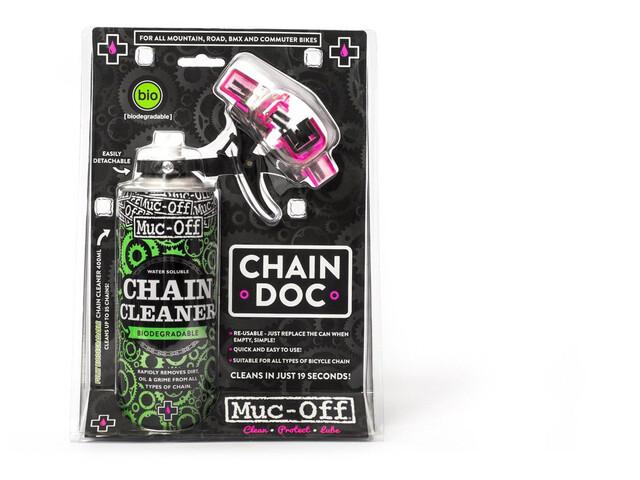 Muc-Off Chain Doc inklusiv Chain Cleaner sort (2019) | Kæder